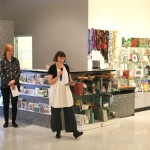 Dr Courtney Pederson, opening of Lamentation Pine Rivers Art Gallery