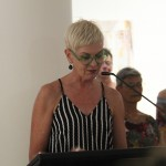 Louise Martin-Chew, opening Lamentation at Redland Art Gallery