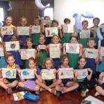 Lamentation at Tableland Regional Gallery (primary school workshops)