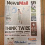 News Mail Bundaberg (front page)